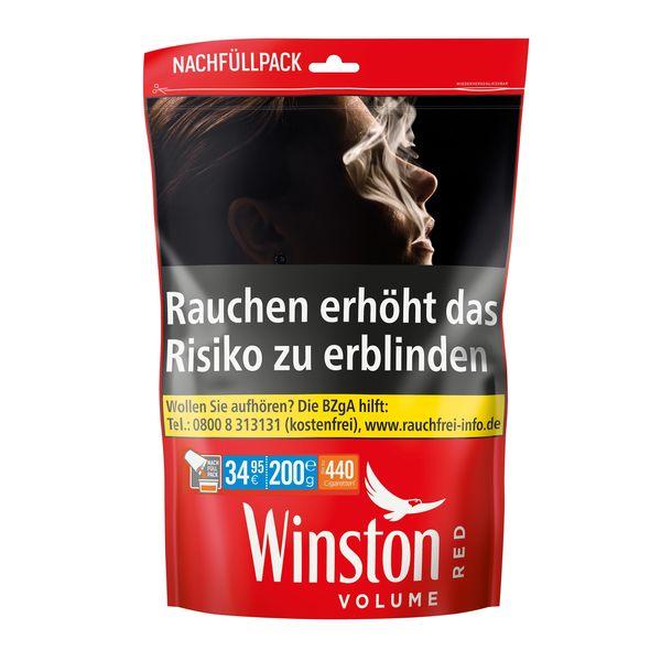 Winston Volume Tobacco Red XXXL Nachfüllpack 200g